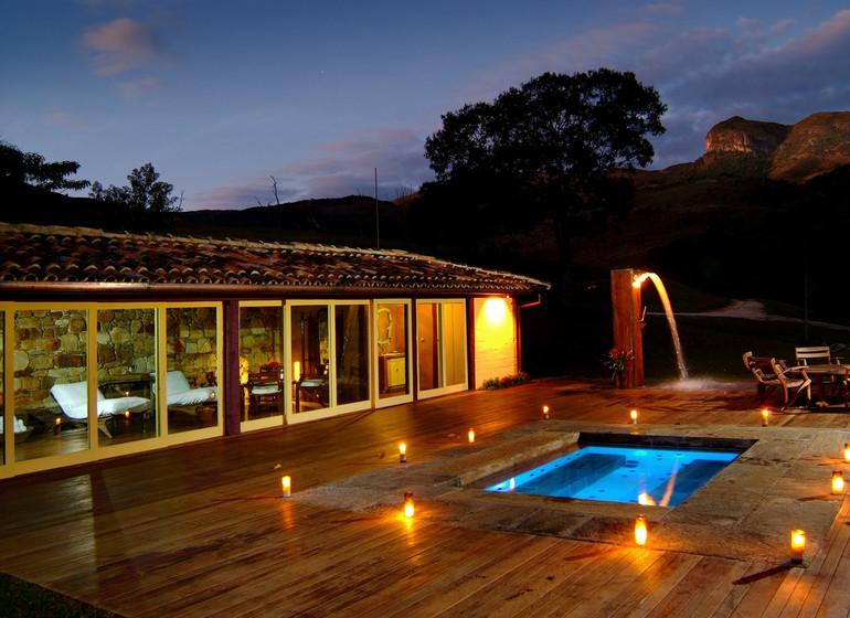 Brésil Voyage Minas Gerais Ibitipoca spa avec petit pool
