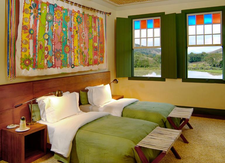 Brésil Voyage Minas Gerais Ibitipoca suite twin