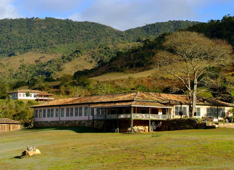 Brésil Voyage Ibitipoca Ecolodge maison principale
