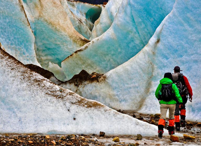 Chili Voyage Carreterra Austral Mallin Colorado exc ice trek
