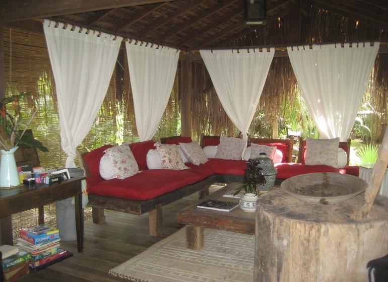 Brésil Voyage Marau Butterlfy House salon