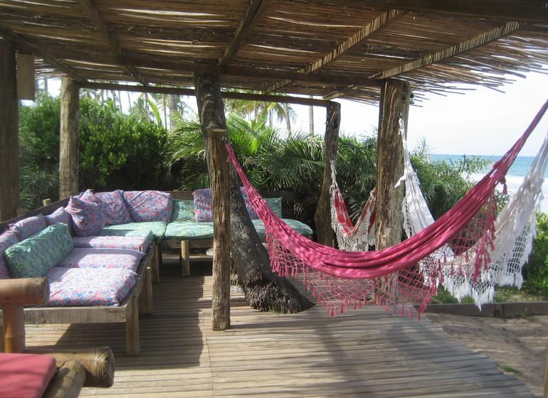 Brésil Voyage Marau Butterlfy House terrasse