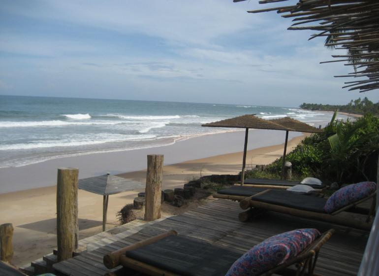 Brésil Voyage Marau Butterfly House plage