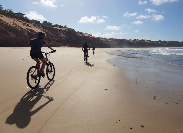 Brésil Voyage Pipa en VTT par les plages