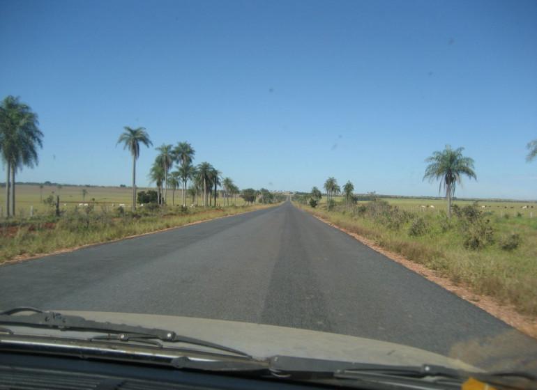 Brésil Voyage route entre Bonito et Pantanal
