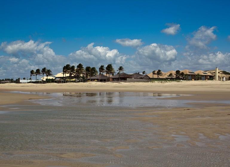 Brésil Voyage Zorah Beach vue sur la plage de loin
