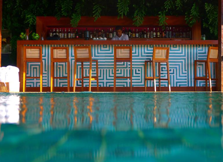 Brésil Voyage Rio de Janeiro Buzios Insolito Hotel bar