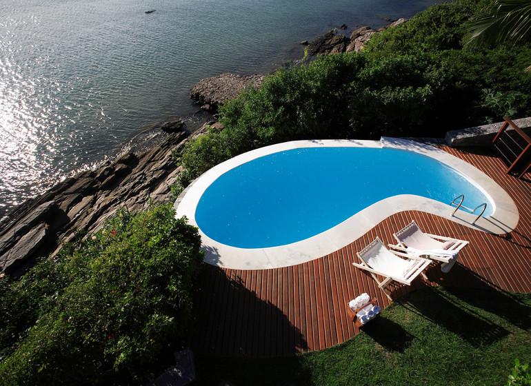 Brésil Voyage Rio de Janeiro Buzios Insolito Hotel petite piscine