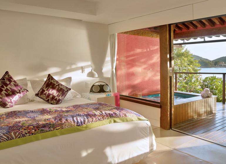Brésil Voyage Rio de Janeiro Buzios Insolito Hotel suite vue mer