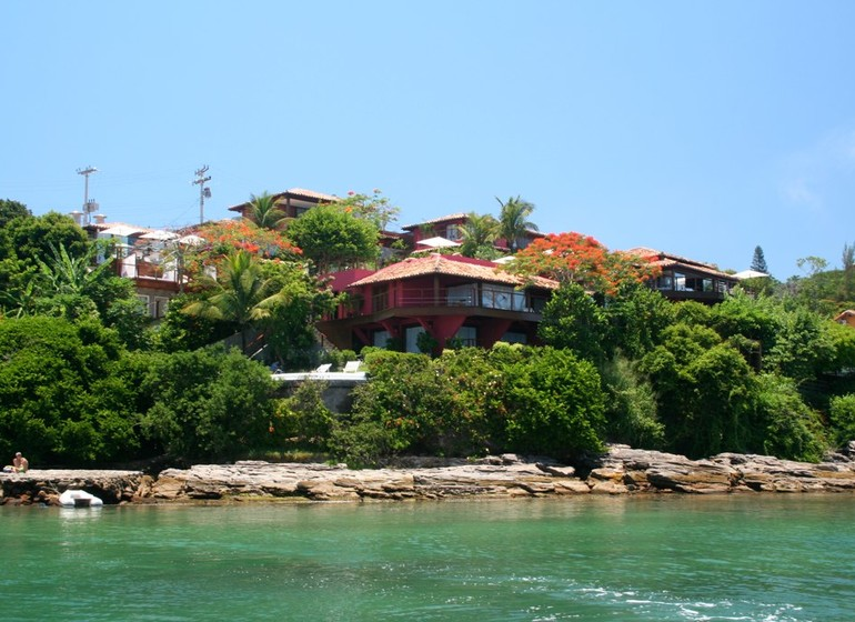 Brésil Voyage Rio de Janeiro Buzios Insolito Hotel vue depuis la mer