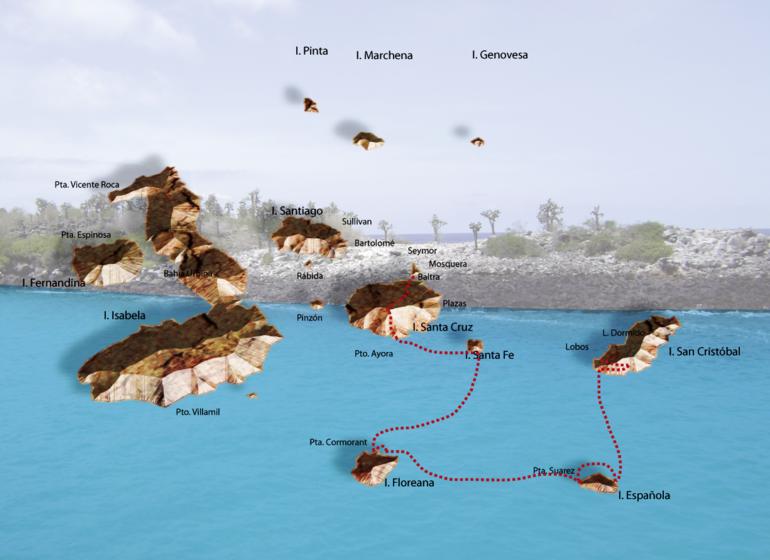 Croisière Galápagos, Treasure of Galápagos