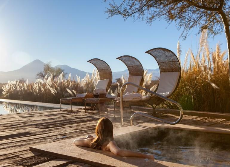 Chili Voyage TIerra Atacama piscine