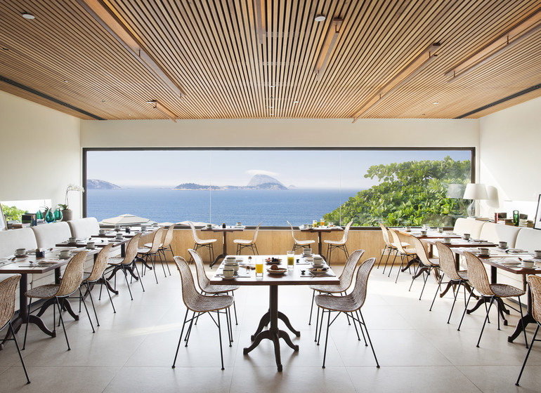 Brésil Voyage Rio Janeiro hôtel restaurant