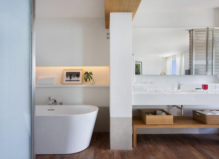 Brésil Voyage Rio Janeiro hôtel chambre avec bain