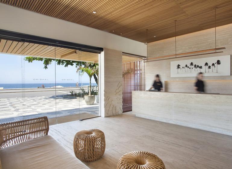 Brésil Voyage Rio Janeiro hôtel réception