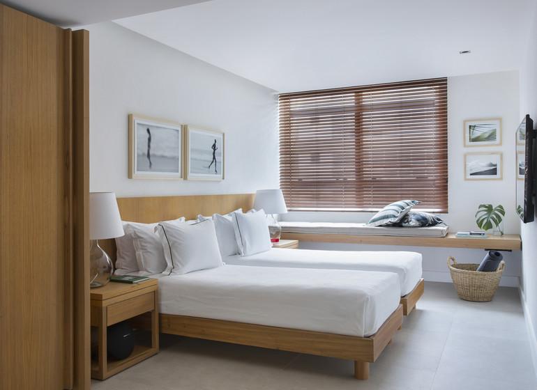 Brésil Voyage Rio Janeiro hôtel chambre twin