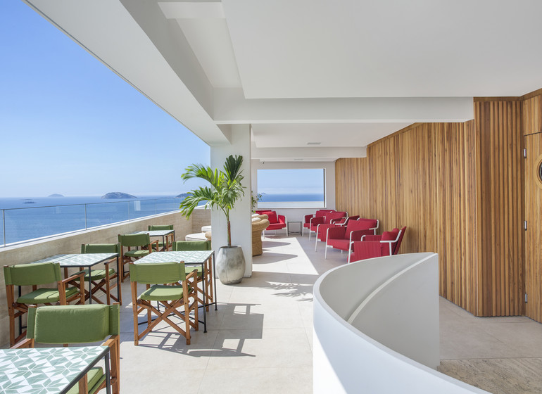 Brésil Voyage Rio Janeiro hôtel terrasse