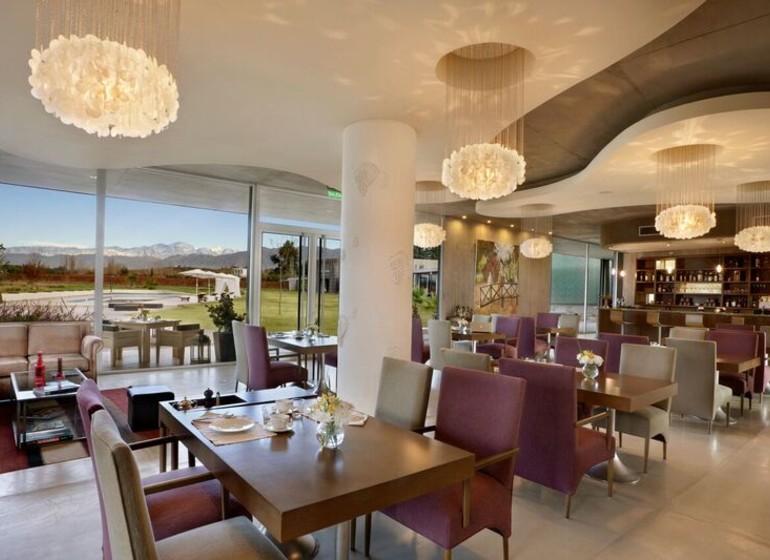 Argentine Voyage Mendoza Entre Cielos restaurant