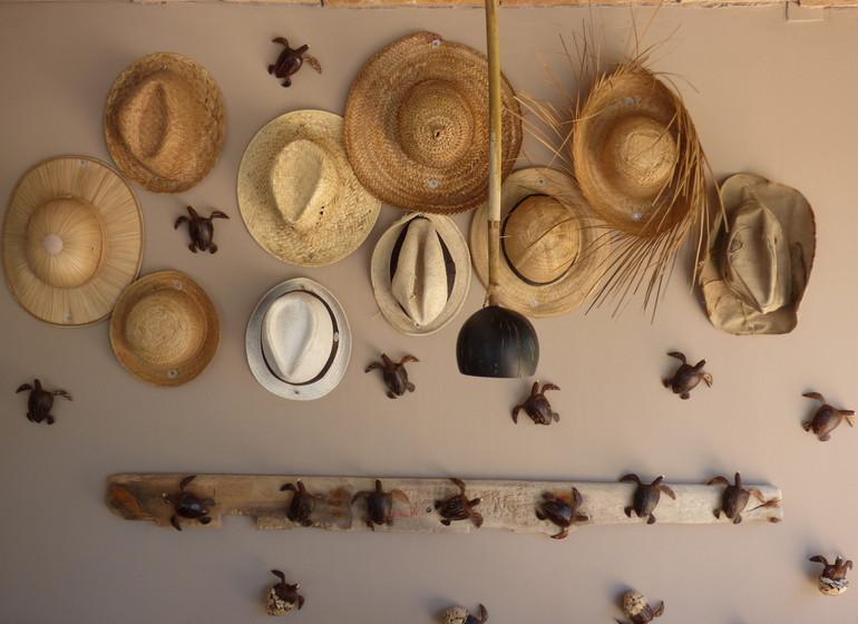 Brésil Voyage Sibauma Pipa Kilombo décoration entrée