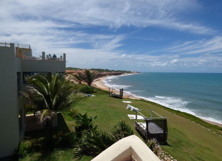 Brésil Voyage Sibauma Pipa Kilombo vue plage