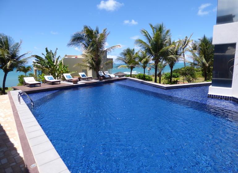 Brésil Voyage Sibauma Pipa Kilombo piscine