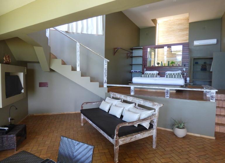 Brésil Voyage Sibauma Pipa Kilombo villa intérieure I