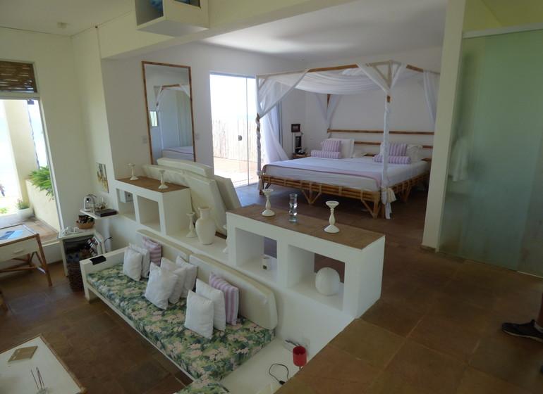 Brésil Voyage Sibauma Pipa Kilombo villa intérieure IV