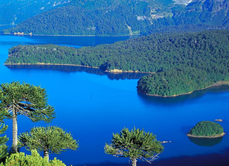 Chili Argentine Région des Lacs vue splendide