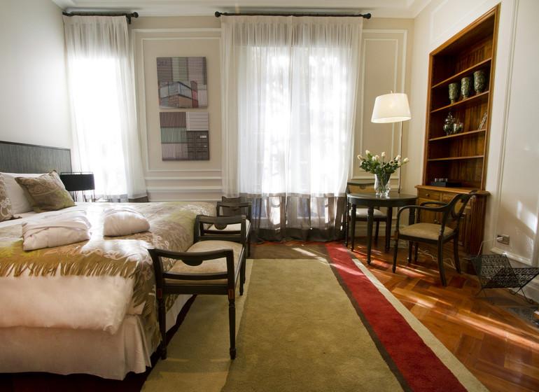 Chili Voyage Santiago Casa Bueras Lastarria junior suite