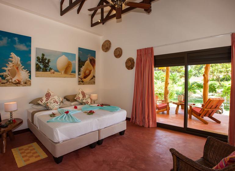 Hotel Les Lauriers, Praslin, Seychelles