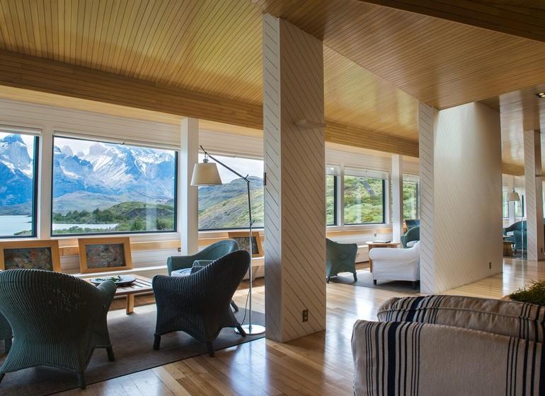 Chili Voyage Explora Patagonia lobby et séjour