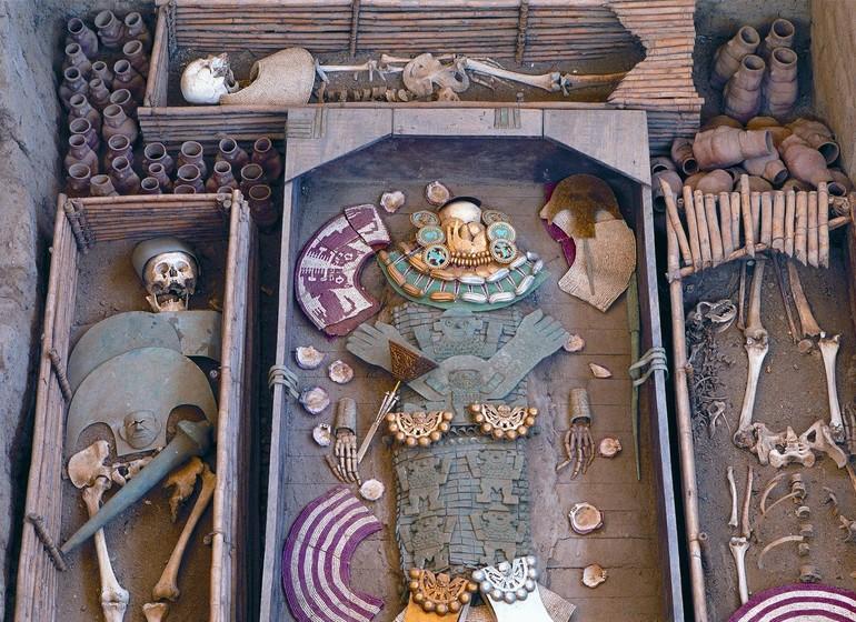 Voyage Pérou Nord tombes de Sipan