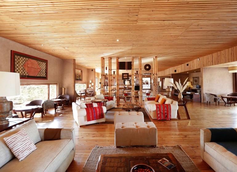 Chili Voyage Los Cumbres Atacama salon et séjour intérieur