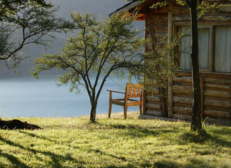 Chili Voyage Carreterra Austral Mallin Colorado ambiance lac