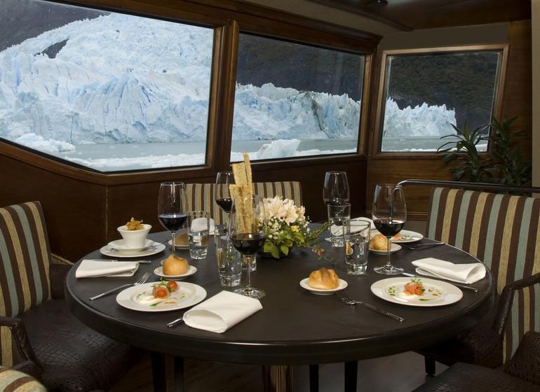 Argentine Voyage Patagonie Marpatag restaurant