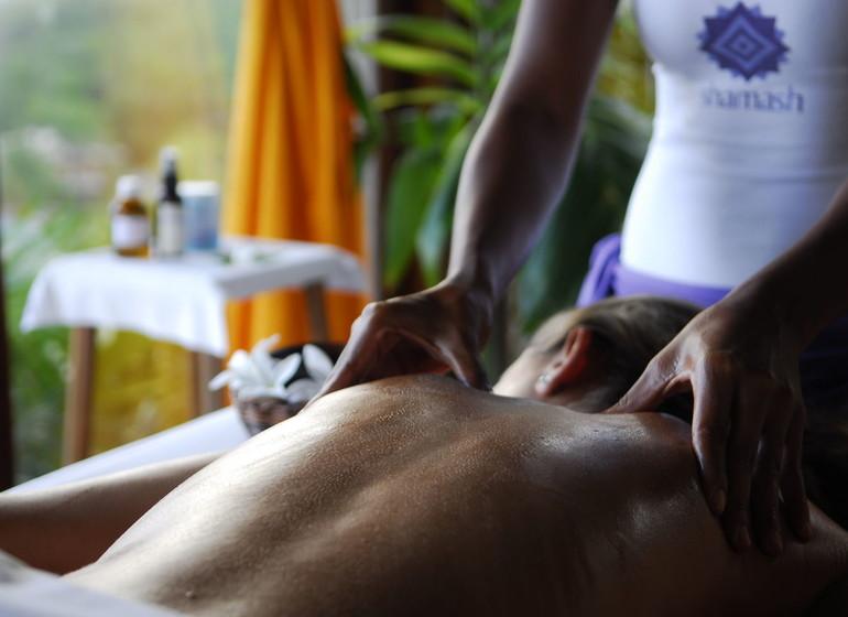Brésil Voyage Txai Resort massage au plus beau spa du Brésil