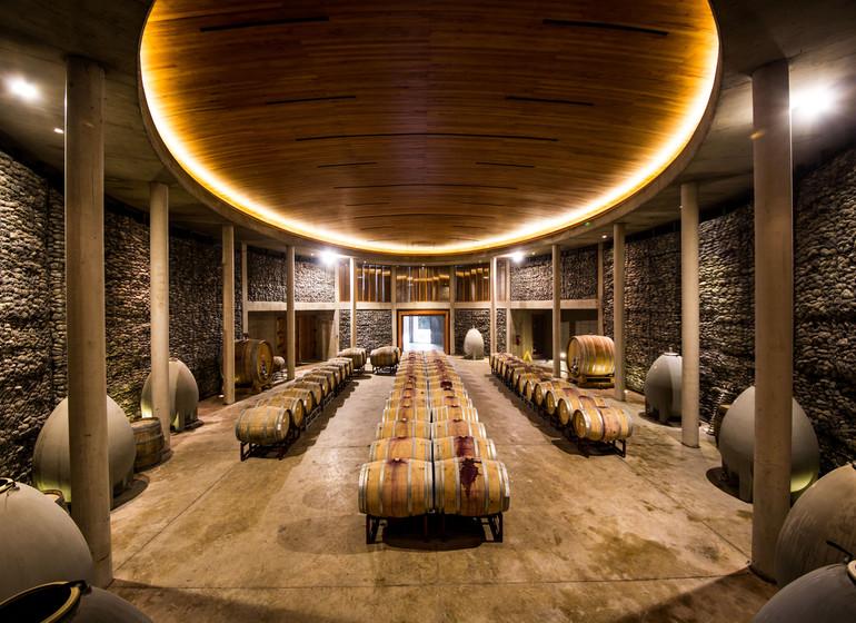 Chili Voyage Casona Matetic cave à vin