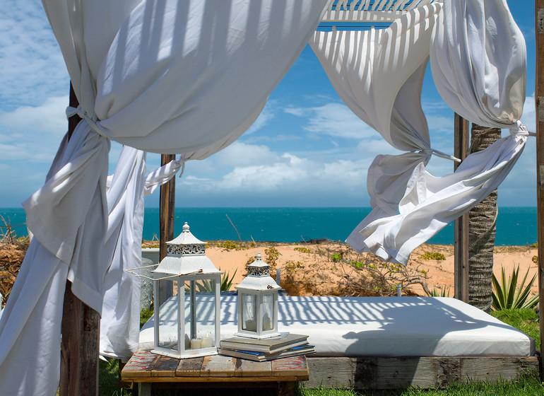 Brésil Voyage Jeri Chili Beach ambiance relax venté