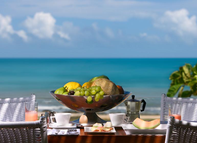 Brésil Voyage Jeri Chili Beach fruits et plage
