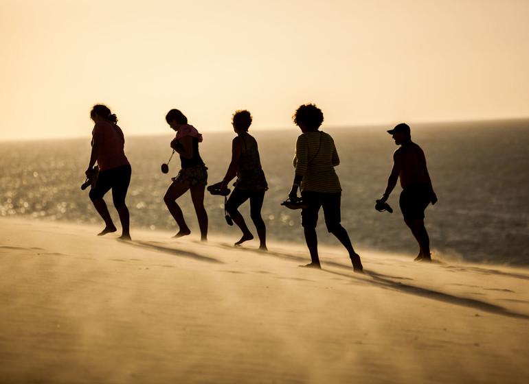 Brésil Voyage Jericoacoara dune walking