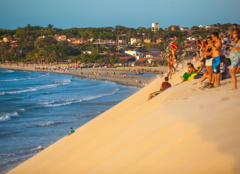 Brésil Voyage Jericoacoara dune