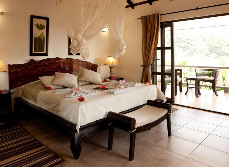 Hotel Chateau St Cloud, la Digue, Seychelles