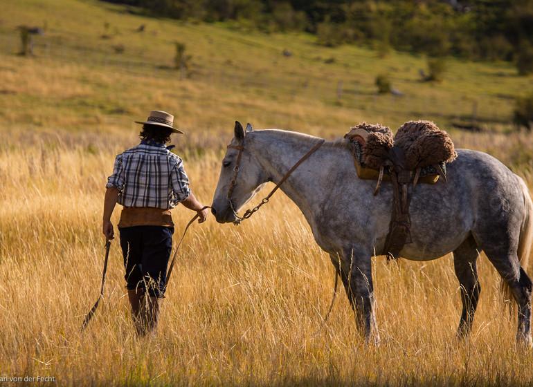 Argentine Voyage Patagonie Trek à cheval Nibepo Aike gaucho