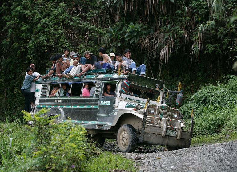 voyage asie philippines jeepney