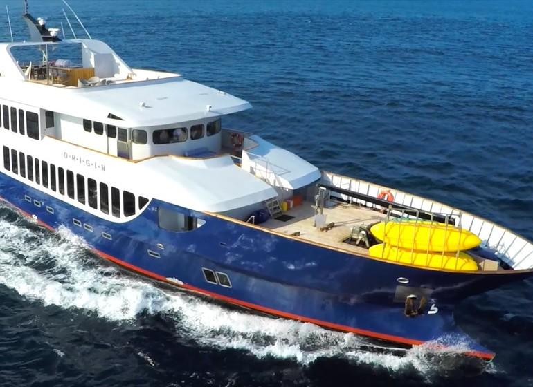 Croisière Galápagos, Croisière MV Origin