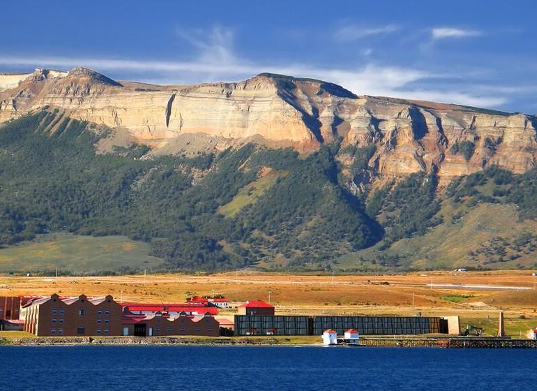 Chili Voyage The Singular Patagonia vue à  distance avec cordillère