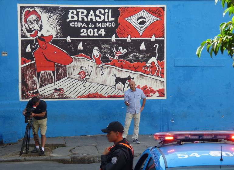 Brésil Voyage Rio de Janeiro scène de rue