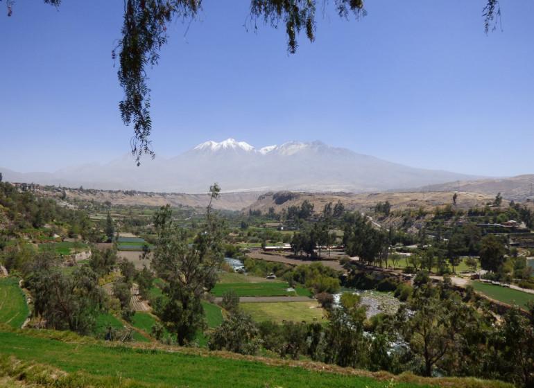 Pérou Voyage Arequipa avec volcans