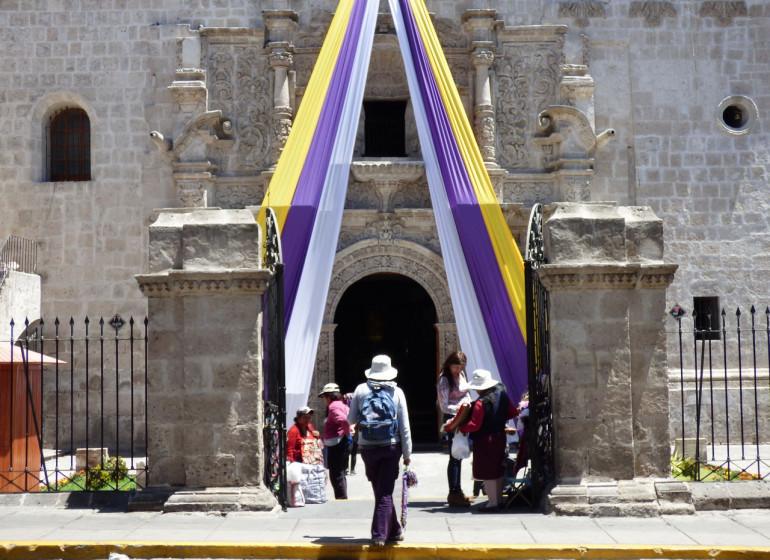 Pérou Voyage Arequipa centre historique
