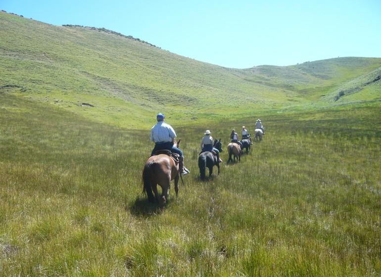 Argentine Voyage Mendoza Rancho e'Cuero à cheval